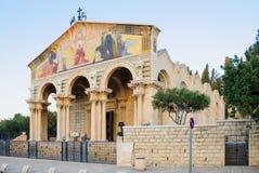 A igreja de todas as nações imagem de stock royalty free