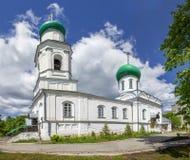 Igreja de todos os Saint Semenov, região de Nizhny Novgorod, Rússia fotografia de stock royalty free