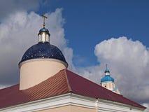 Igreja de Trapeznaja (monastério de Baturinsky) Imagens de Stock