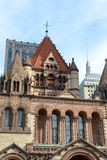 Igreja de trindade de Boston, EUA Foto de Stock Royalty Free