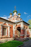 Igreja de trindade em Ostashkov imagem de stock