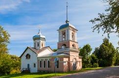 Igreja de trindade em Velikiy Novgorod, Rússia foto de stock