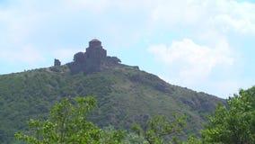 Igreja de trindade de Gergeti vídeos de arquivo