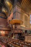 Igreja de trindade, quadrado de Copley, Boston Foto de Stock Royalty Free