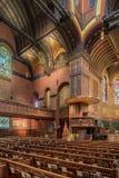 Igreja de trindade, quadrado de Copley, Boston Imagens de Stock Royalty Free