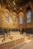 Igreja de trindade, quadrado de Copley, Boston Foto de Stock