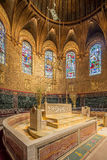 Igreja de trindade, quadrado de Copley, Boston Imagem de Stock