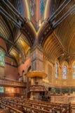 Igreja de trindade, quadrado de Copley, Boston Fotografia de Stock