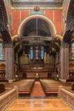 Igreja de trindade, quadrado de Copley, Boston Imagens de Stock