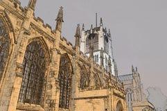 Igreja de trinity Kingston do azevinho em cima da casca Foto de Stock Royalty Free