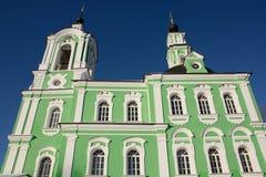 Igreja de Troitse-Tikhvinskaya fotografia de stock