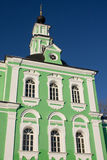 Igreja de Troitse-Tikhvinskaya imagens de stock royalty free