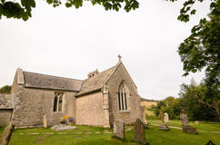 Igreja de Tyneham Foto de Stock