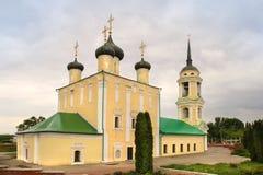 Igreja de Uspensky Admiralty na cidade de Voronezh, Rússia imagens de stock royalty free