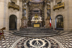 Igreja de Val de Grace, Paris, França Imagem de Stock