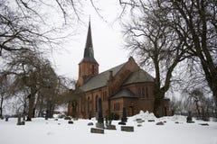 Igreja de Vestby Fotografia de Stock Royalty Free