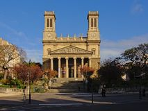 Igreja de Vincent de Paul de Saint, Paris, França Fotos de Stock