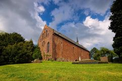 Igreja de Waddewarden Foto de Stock Royalty Free