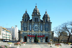 Igreja de Wangfujing Fotografia de Stock