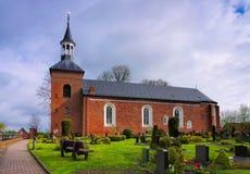 Igreja de Werdum Imagens de Stock