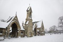 Igreja de Winer Fotos de Stock Royalty Free