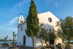 Igreja de Ypapanti foto de stock