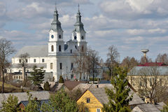 Igreja de Zemaiciu Kalvarija fotos de stock royalty free