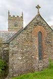 Igreja de Zennor em Cornualha Inglaterra Fotos de Stock