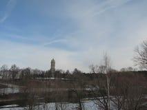 Igreja de Znamenskaya em Dubrovitsy foto de stock royalty free