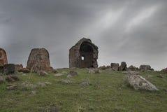 Igreja de Zoravar de Saint em Yeghvard Armênia Imagens de Stock