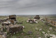 Igreja de Zoravar de Saint em Yeghvard Armênia Imagens de Stock Royalty Free