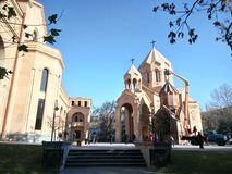 Igreja de Zoravor de Saint Fotografia de Stock Royalty Free