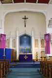 Igreja dentro Fotografia de Stock Royalty Free