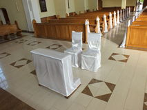 Igreja dentro de 3 imagem de stock royalty free