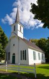 Igreja dinamarquesa velha foto de stock