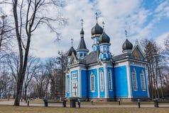 Igreja do ícone da mãe do deus III fotos de stock royalty free