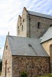 Igreja do Aa Bornholm Foto de Stock Royalty Free
