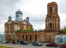 Igreja do arcanjo Michael Cidade de Yelets fotografia de stock royalty free