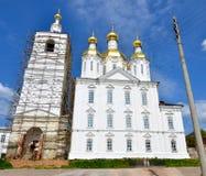 Igreja do aviso do Virgin abençoado em Arzamas, Rússia Imagem de Stock Royalty Free