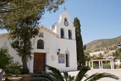 Igreja do benalmadena (Espanha) foto de stock