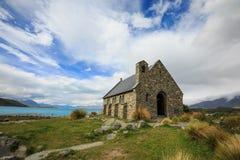 Igreja do bom tekapo do lago shepherd Imagens de Stock Royalty Free