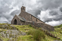 Igreja do buttermere do distrito do lago Fotos de Stock Royalty Free