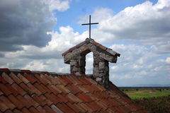 Igreja do campo Imagem de Stock Royalty Free