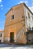 Igreja do carmim Morano Calabro Calabria Italy Fotografia de Stock