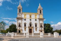 Igreja do Carmo church. Faro, Portugal Stock Image