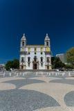Igreja do Carmo Famous bone chapel, Portugal Stock Image