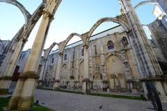 Igreja do Carmo, Lisbon, Portugal Royalty Free Stock Image