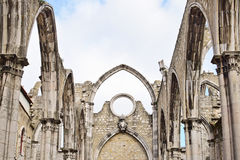 Igreja do Carmo in Lisbon in  Portugal Stock Photos