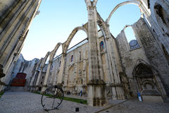 Igreja do Carmo, Lisbon, Portugal Royalty Free Stock Images