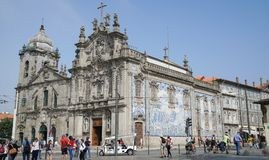 Igreja do Carmo, Porto, Portugal royalty-vrije stock foto